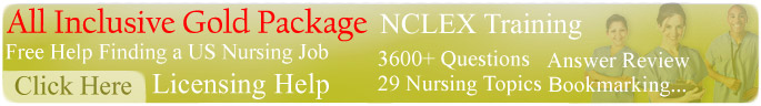 Gold Package NCLEX Nurse Licensing USA Nursing Jobs